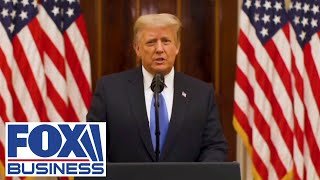 Trump releases farewell video; focuses on highlights of his presidency