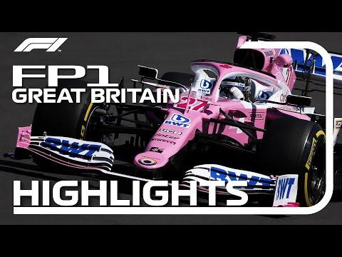 2020 British Grand Prix: FP1 Highlights