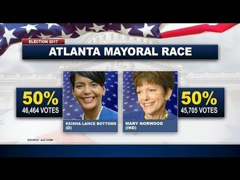 Atlanta's Mayoral Runoff Heads To A Recount