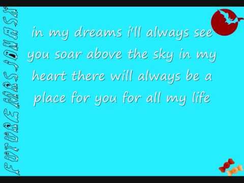 faith hill - there you'll be lyrics