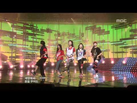 F(X) - Chu~♡, 에프엑스 - 츄~♡, Music Core 20091114