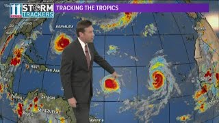 Hurricane Florence is on its way, but don't forget about Helene and Isaac