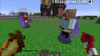 Grian & Scar scaring Bdubs with the Proximity Chat Mod