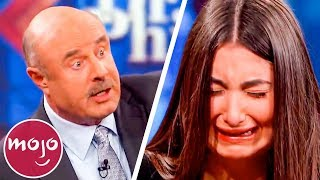 Top 10 Times Dr. Phil OWNED Spoiled Kids