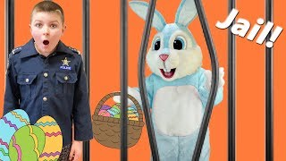 Easter Holiday kids funny video featuring Buster Bunny, the candy and the Escape Room