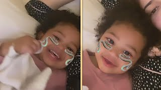 Kylie Jenner SWEETLY Comforted by Stormi After Wisdom Teeth Surgery