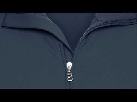 Bogner Udo Mens Fleece Midlayer in Navy