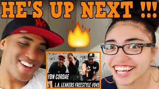 MY DAD REACTS TO YBN Cordae Freestyle w/ The L.A. Leakers REACTION - Freestyle #045