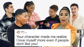 'On My Block' Cast Competes in a Compliment Battle | Teen Vogue