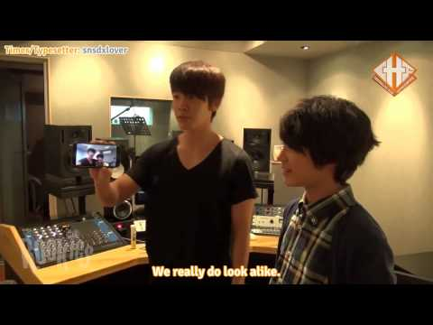 [Crystallite Subs] 131205 SM Rookies - Jeno with Super Junior's Donghae (eng sub)