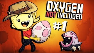 Animal Ranching On An Asteroid! - Ep. 1- Oxygen Not Included Ranching Upgrade - ONI Gameplay