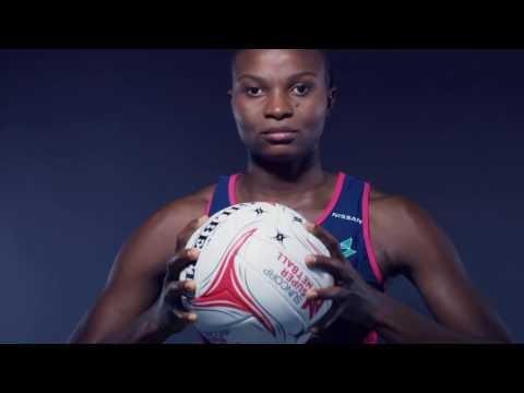 Mwai Kumwenda - Suncorp Super Netball Ad