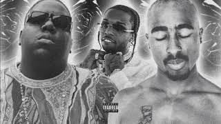 Pop Smoke - Mood Swings (Remix) ft. 2Pac, The Notorious B.I.G, Lil Tjay (Audio) [Prod by. JAE]