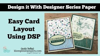 Quick & Easy Cards with Designer Series Paper