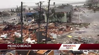 Hurricane Michael leaves a trail of destruction