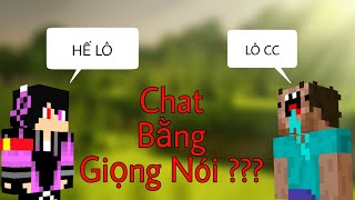 Top 5 Tính Năng Thú Vị Được Bí Mật Thêm Vào Minecraft - Chat Bằng Giọng Nói ???