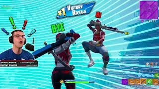 Fortnite...but this ending will give you an ADRENALINE RUSH!
