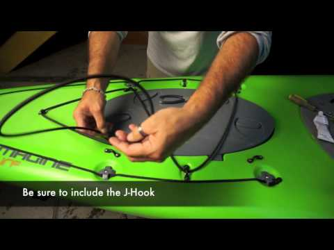 Yak Gear - How to Install a Bungee Deck Rigging Kit
