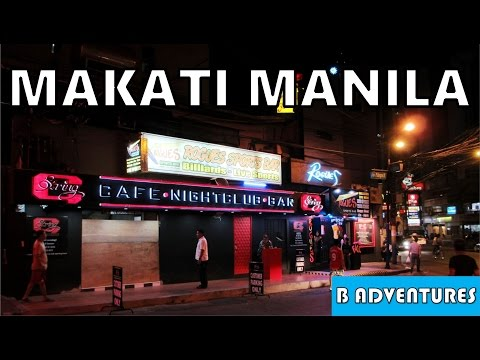 Traveling Philippines, Ep 19/21, Back to Makati Manila, Street Tour & Nightlife