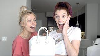 SHE SURPRISED HER W $1500 DESIGNER BAG!!