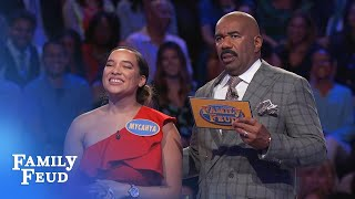 The Walkers play Fast Money! | Family Feud