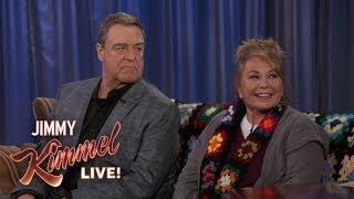 """Roseanne Barr & John Goodman on """"Roseanne"""" Return"""