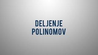 Deljenje polinomov