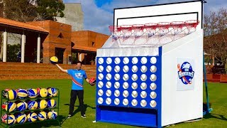 EPIC GIANT BASKETBALL CONNECT 4 GAME!