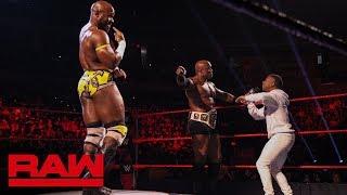 Apollo Crews faces Bobby Lashley in a pose-off: Raw, Jan. 21, 2019