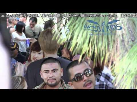 [MerryKris] Kris at DisneyLand in LA (some KrisLay Moment)