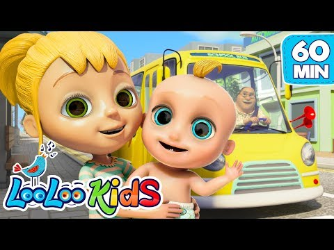 The Wheels on the Bus - Super Educational Songs for Children   LooLoo Kids