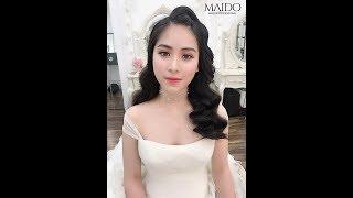 Hướng dẫn làm tóc sóng nước Hàn Quốc 2019 - Mai Đỗ Makeup