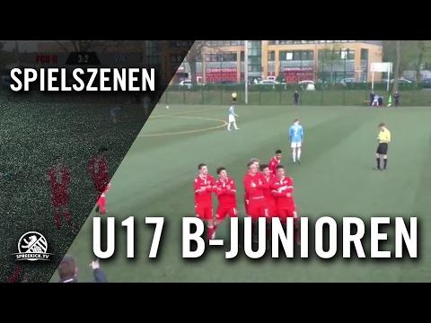 1. FC Union Berlin II - FC Viktoria 1889 Berlin (U17 B-Junioren, Verbandsliga) - Spielszenen | SPREEKICK.TV