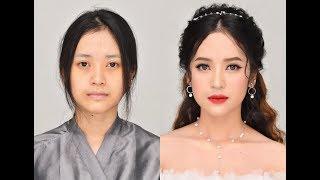 Snow White Bridal Makeup Look - Trang Điểm Cô Dâu Mùa Đông 2018