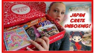JAPAN CRATE UNBOXING!!!   itzamanda