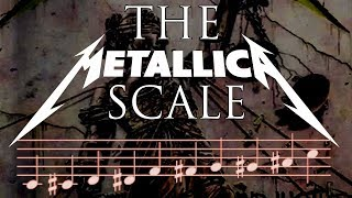 How To Write Metal Riffs using the METALLICA SCALE - Composition / Guitar Lesson