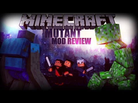 Minecraft: Mod Review - Mutant Mobs Mod - Smashpipe Games