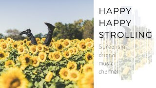 An original uplifting piano song - Happy happy strolling