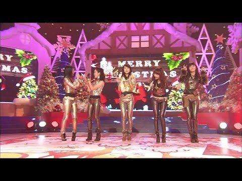 【TVPP】Girl's Day - All I want for Christmas is you (Carol song), 걸스데이 - 캐럴 송 @ Christmas Concert
