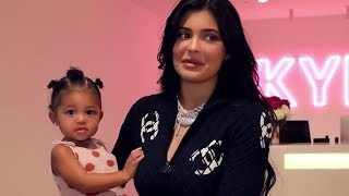 Stormi Makes Kylie Jenner Emotional In New Kylie Cosmetics Video