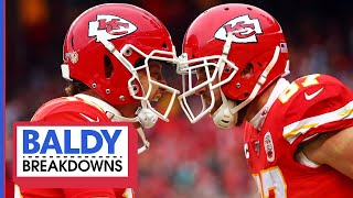 Breaking Down Mahomes' & Kelce's EPIC Divisional Comeback   Baldy Breakdowns