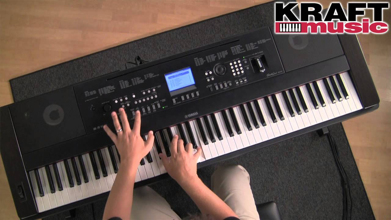 kraft music yamaha dgx 650 portable grand digital piano demo with dane madsen youtube. Black Bedroom Furniture Sets. Home Design Ideas