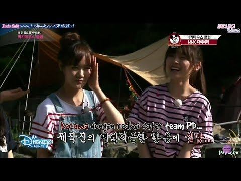 [INDO SUB] MMC Camping Diary Ep. 3 with Koeun, Hina, and Lami