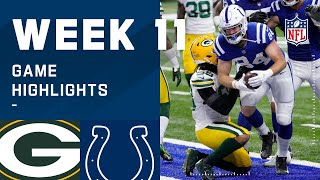 Packers vs. Colts Week 11 Highlights | NFL 2020