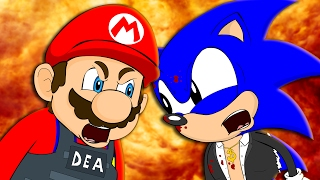 MARIO VS SONIC - Animation Parody