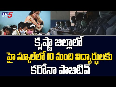 10 govt school students tested positive to Covid-19 in Krishna district