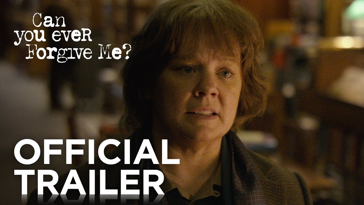 Trailer de Can You Ever Forgive Me?