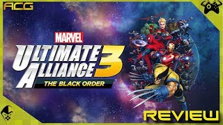 """Marvel Ultimate Alliance 3: The Black Order Review """"Buy, Wait for Sale, Rent, Never Touch?"""""""