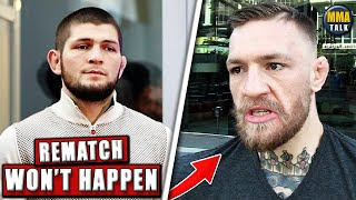 Coach REVEALS why Khabib won't fight Conor McGregor, Cannonier sends warning to Whittaker, O'Malley