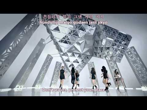 SNSD - The Boys (kor ver) MV [eng sub + romanization + hangul]